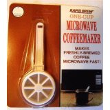 One Cup Microwave Perma Brew Coffee Maker by Tops