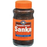 Sanka Decaffeinated Instant Coffee 4-Ounce Jars