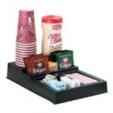 Dispenser Rite Coffee Condiment & Stir Stick Countertop Organizer