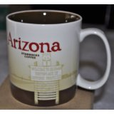 2009 Starbucks Arizona Collector Coffee Mug 16 FL OZ