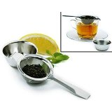 Stainless Steel Tea Infuser with Strainer Cup aaa