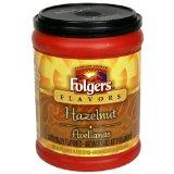 Folgers Flavors Hazelnut Ground Coffee