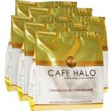 Café Halo French Vanilla, Cappuccino, Cinnamon Caramel, Chocolate Indulgence, Hazelnut, Butter Toffee Pods