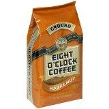 Eight O'Clock Ground Coffee, Hazelnut