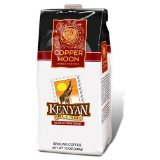 Copper Moon Kenya Coffee, Whole Bean, 5-Pound Bag